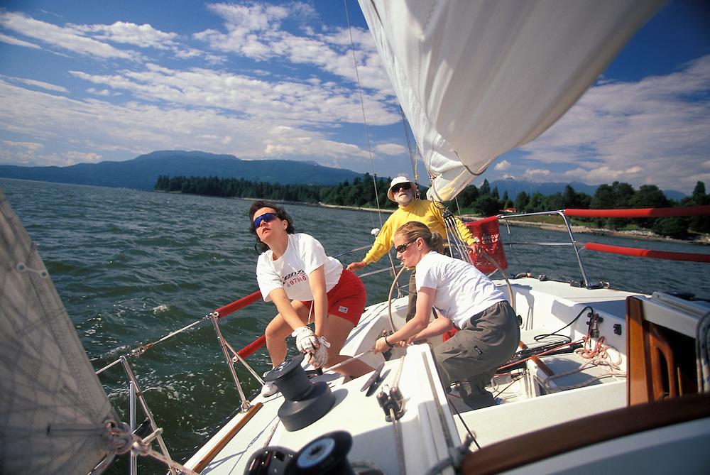 Sailing, Vancouver, Canada