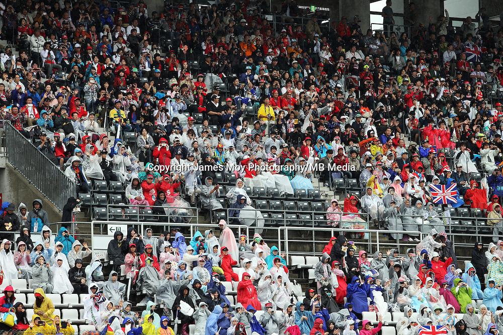 Fans.<br /> Japanese Grand Prix, Sunday 5th October 2014. Suzuka, Japan.
