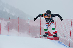 BORTOLO Michele, Snowboarder Cross, 2015 IPC Snowboarding World Championships, La Molina, Spain