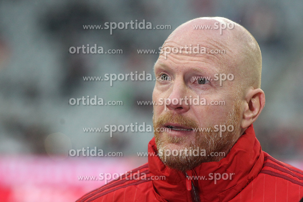 12.03.2016, Allianz Arena, Muenchen, GER, 1. FBL, FC Bayern Muenchen vs SV Werder Bremen, 26. Runde, im Bild Sportdirektor Matthias Sammer (FC Bayern Muenchen) // during the German Bundesliga 26th round match between FC Bayern Munich and SV Werder Bremen at the Allianz Arena in Muenchen, Germany on 2016/03/12. EXPA Pictures &copy; 2016, PhotoCredit: EXPA/ Eibner-Pressefoto/ Langer<br /> <br /> *****ATTENTION - OUT of GER*****