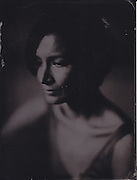 Lauren Cuthbertson, principal ballet dancer, Royal Opera House, London, wetplate collodion tintype portrait
