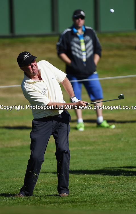 New Zealand's Greg Turner during round one of the 2015 BMW New Zealand Golf Open, Millbrook Resort, Arrowtown, New Zealand Thursday 12 March 2015. Copyright Photo: Andrew Cornaga / www.photosport.co.nz