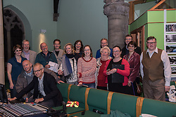 The Action Porty group leading the campaign for the community right to buy of Bellfield Church and Halls in Portobello held an open meeting last night in Portobello and Joppa Parish Church. Pictured Some of the Action Porty team<br /> &copy; Jon Davey/ EEm