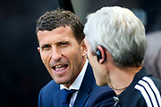 Watford manager Havi Gracia during the Premier League match between Newcastle United and Watford at St. James's Park, Newcastle, England on 31 August 2019.
