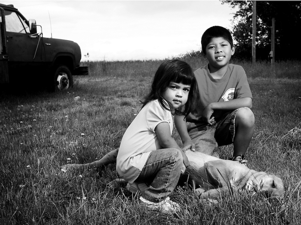 Raymond and Rayna Rodriguez, foster children in need of a permanent family, featured in the Heart Gallery.