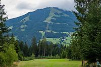 WESTENDORF -  Tirol   Oostenrijk,  - hole 12. Golfanlage Kitzbuheler Alpen Westendorf.    COPYRIGHT KOEN SUYK