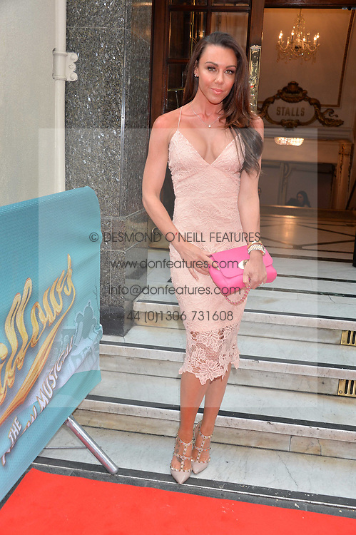 Michelle Heaton arriving at The opening night of Wind in The Willows at the London Palladium, Argyll Street, London England. 29 June 2017.<br /> Photo by Dominic O'Neill/SilverHub 0203 174 1069 sales@silverhubmedia.com
