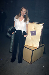 EMILY OPPENHEIMER-TURNER at a party for De Beers to celebrate the launch of their Rough diamond •Talisman Collectionê held at Shunt Vaults, London Bridge, London SE1 on 28th November 2005.<br />