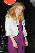 07.JUNE.2011. LONDON<br /> <br /> A VERY SKINNY LILY COLE LEAVING THE ST. JOHNS HOTEL IN SOHO AT 2.00AM.<br /> <br /> BYLINE: EDBIMAGEARCHIVE.COM<br /> <br /> *THIS IMAGE IS STRICTLY FOR UK NEWSPAPERS AND MAGAZINES ONLY*<br /> *FOR WORLD WIDE SALES AND WEB USE PLEASE CONTACT EDBIMAGEARCHIVE - 0208 954 5968*
