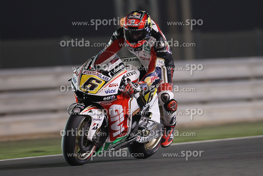 07.04.2012, Losail Circuit, Doha, QAT, MotoGP, Commercialbank Grand Prix of Qatar, im Bild Stefan Bradl - LCR Honda team // during MotoGP 'Commercialbank Grand Prix of Qatar' at 'Losail Circuit', Doha, Qatar on 2012/04/07. EXPA Pictures © 2012, PhotoCredit: EXPA/ Insidefoto/ Semedia..***** ATTENTION - for AUT, SLO, CRO, SRB, SUI and SWE only *****