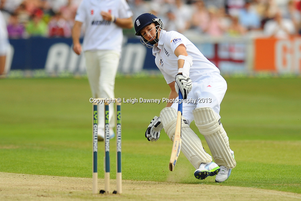 Joe Root makes a run during England v Essex first day of a four day Ashes warm up game at the Essex County Cricket Ground, 30.06.13.  Credit: © Leigh Dawney Photography. Self Billing where applicable. Tel: 07812 790920