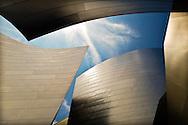 Walt Disney Concert Hall, Los Angeles. Frank Gehry designed Hall. Personal work.