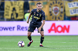 September 1, 2018 - Parma, Italy - Miralem Pjanic of Juventus during Serie A match between  Parma v Juventus in Parma, Italy, on September 1, 2018. (Credit Image: © Giuseppe Maffia/NurPhoto/ZUMA Press)