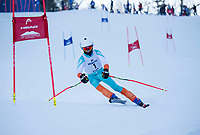 Giant Slalom race at Gunstock.  ©2020 Karen Bobotas Photographer
