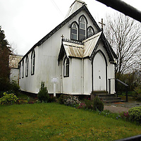 Our Lady of Mercy church in Aberfeldy ... 2.4.2004.<br />