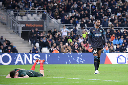 January 13, 2019 - Marseille, France - 30 STEVE MANDANDA (OM) - DECEPTION (Credit Image: © Panoramic via ZUMA Press)