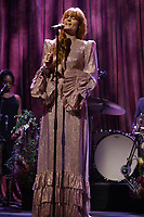 Florence + The Machine performing