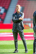 Ross McCrorie (#15) of Portsmouth FC on the pitch before the EFL Sky Bet League 1 match between Sunderland and Portsmouth at the Stadium Of Light, Sunderland, England on 17 August 2019.