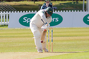 Mark Cosgrove batting during the Specsavers County Champ Div 2 match between Leicestershire County Cricket Club and Lancashire County Cricket Club at the Fischer County Ground, Grace Road, Leicester, United Kingdom on 23 September 2019.