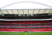 Wembley during the Friendly International match between England and Portugal at Wembley Stadium, London, England on 2 June 2016. Photo by Matthew Redman.