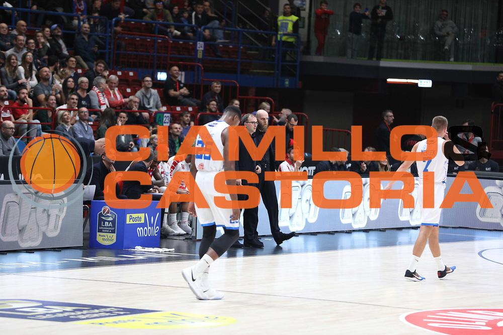EA7 Emporio Armani Milano vs Happy Casa Brindisi - 4 giornata Campionato LBA 2017/2018, MediolanumForum 22 ottobre 2017 - foto Bertani/Ciamillo-Castoria