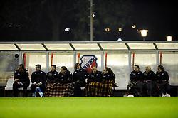 12-11-2009 VOETBAL: FC UTRECHT -AZ VROUWEN: UTRECHT<br /> Utrecht verliest met 1-0 van AZ / Reservebank FC Utrecht<br /> ©2009-WWW.FOTOHOOGENDOORN.NL