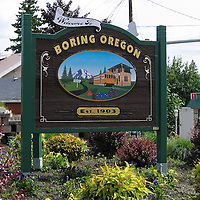 Internet pictures of the Boring, Oregon, USA which is being twinned with the village of Dull, near Aberfeldy, Perthshire. <br /> Please see Gordon Currie story. <br /> <br /> Perthshire Picture Agency.<br /> Tel: 01738 623350  Mobile: 07990 594431
