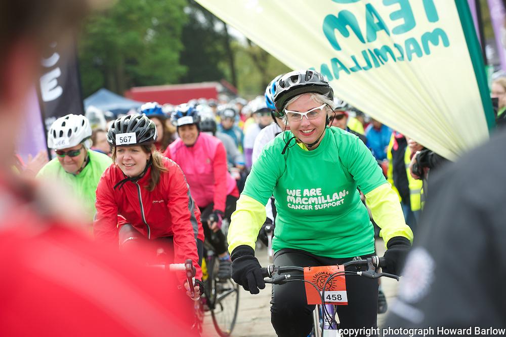 CYCLETTA Charity Womens Bike Ride at Tatton Park, Knutsford (Sunday 12 May 2013)