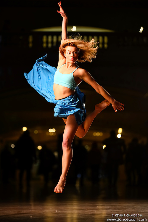 Dance As Art Grand Central Terminal with dancer Krystal Lamiroult