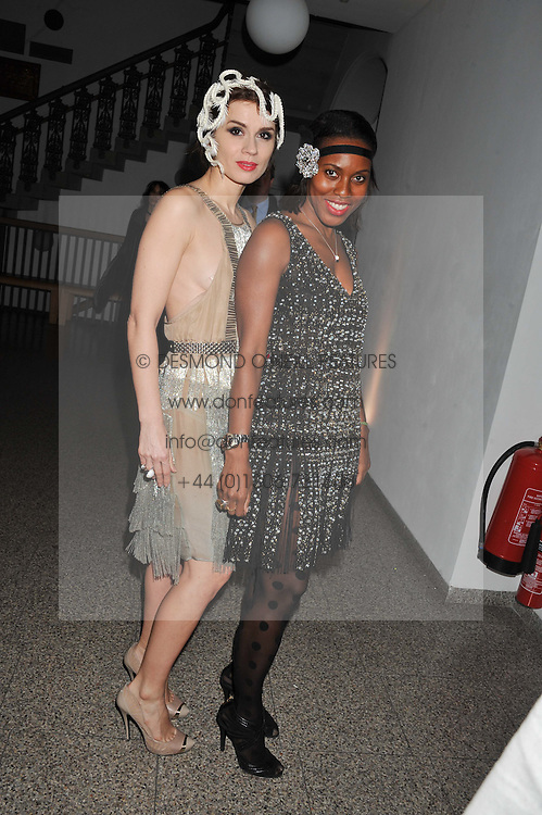 LARA BOHINC and SUSAN BENDER at the Whitechapel Gallery Art Plus Opera gala in association with Swarovski held at the Whitechapel Gallery, London on 15th March 2012.