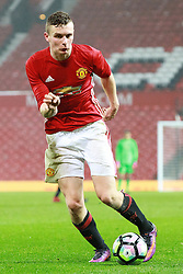 © Licensed to London News Pictures . 12/12/2016 . Manchester , UK . ETHAN HAMILTON on the ball . Manchester United vs Southampton FA Youth Cup Third Round match at Old Trafford . Photo credit : Joel Goodman/LNP