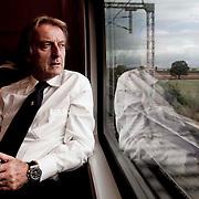 Italo train, run by NTV train is Europe's first private high speed  train service headed by Ferrari boss Luca Cordero di Montezemolo.