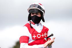 Jockey J Quinn - Mandatory by-line: Robbie Stephenson/JMP - 06/08/2020 - HORSE RACING - Bath Racecourse - Bath, England - Bath Races