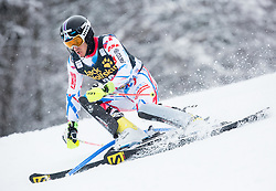Robin Buffet (FRA) competes during 1st Run of 10th Men's Slalom race of FIS Alpine Ski World Cup 55th Vitranc Cup 2016, on March 6, 2016 in Podkoren, Kranjska Gora, Slovenia. Photo by Vid Ponikvar / Sportida