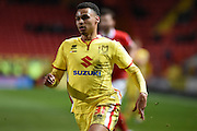 Milton Keynes Dons midfielder Josh Murphy during the Sky Bet Championship match between Charlton Athletic and Milton Keynes Dons at The Valley, London, England on 8 March 2016. Photo by Martin Cole.