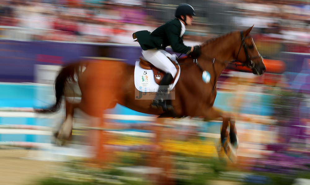 during men's modern pentathlon during day 15 of the London Olympic Games in London, England, United Kingdom on August 11, 2012..(Jed Jacobsohn/for The New York Times)..