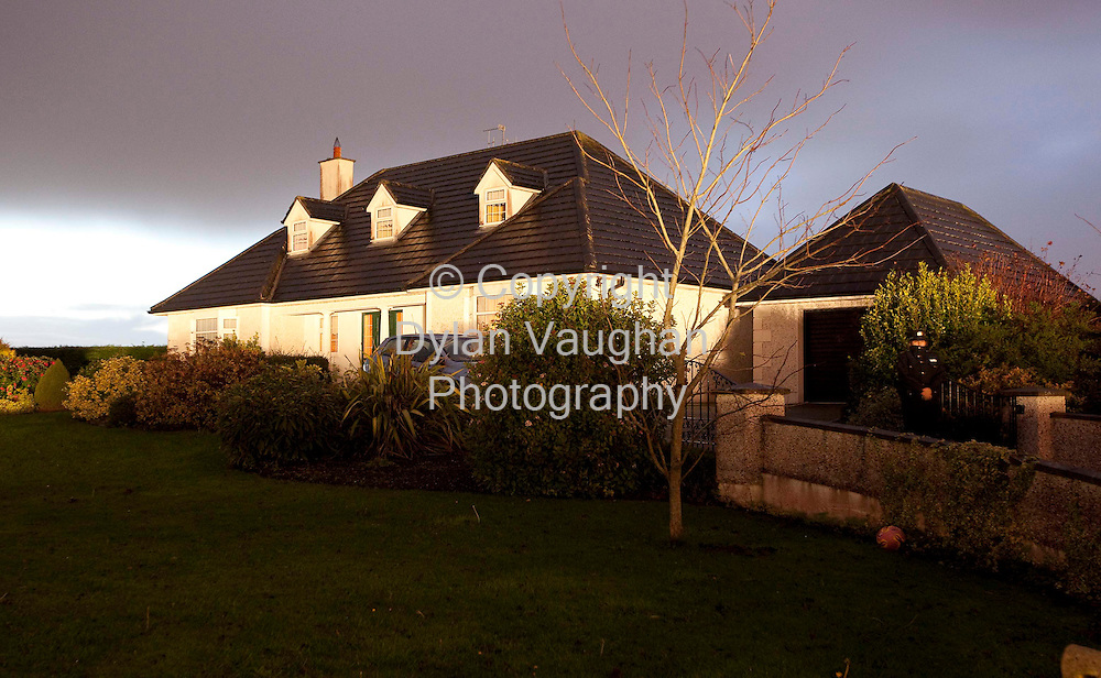 3/11/2009.The Ronan house near Ballycallan county Kilkenny that was involved in the Tiger Raid..Picture Dylan Vaughan.