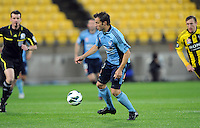 Sydney FC's Alessandro del Piero against the Wellington Phoenix in the A-League football match at Westpac Stadium, Wellington, New Zealand, Saturday, October 06, 2012. Credit:SNPA / Ross Setford