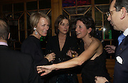 Romilly McCalpine, Charlotte Sodes and Olga Polizzi. Olga Polizzi and Rocco Forte host a party to celebrate the re-opening of Brown's Hotel  after a  £19 million renovation. Albermarle St. London. 12 December 2005. ONE TIME USE ONLY - DO NOT ARCHIVE  © Copyright Photograph by Dafydd Jones 66 Stockwell Park Rd. London SW9 0DA Tel 020 7733 0108 www.dafjones.com