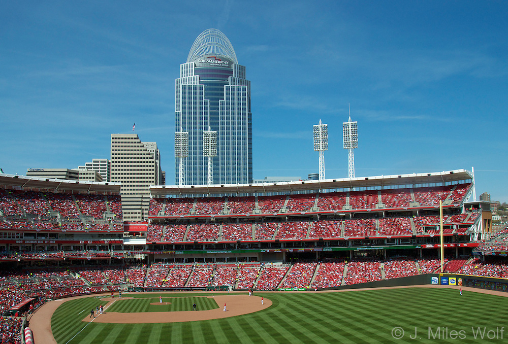 Great American Ball Park Cincinnati Ohio Reds Stadium