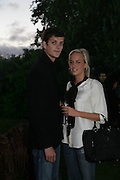 Lord Alexander Spencer-Churchill and Lady Louisa Compton, QUINTESSENTIALLY AND ELEPHANT FAMILY TRUNK SHOW PARTY. SERPENTINE PAVILION, HYDE PARK. 16 SEPTEMBER 2007. -DO NOT ARCHIVE-© Copyright Photograph by Dafydd Jones. 248 Clapham Rd. London SW9 0PZ. Tel 0207 820 0771. www.dafjones.com.