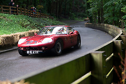 Boness Revival hillclimb motorsport event in Boness, Scotland, UK. The 2019 Bo'ness Revival Classic and Hillclimb, Scotland's first purpose-built motorsport venue, it marked 60 years since double Formula 1 World Champion Jim Clark competed here.  It took place Saturday 31 August and Sunday 1 September 2019. 27. Billy Lambie. Marcos Coupe.