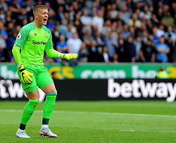 Jordan Pickford of Everton shouts - Mandatory by-line: Nizaam Jones/JMP - 11/08/2018/ - FOOTBALL -Molineux  - Wolverhampton, England - Wolverhampton Wanderers v Everton - Premier League