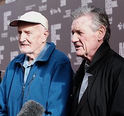 "Glasgow Film Festival, Sunday 3rd March 2019<br /> <br /> UK Premiere of ""Final Ascent""<br /> <br /> Pictured: Hamish MacInnes and Sir Michael Palin<br /> <br /> Alex Todd | Edinburgh Elite media"