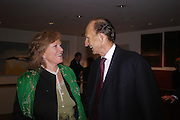 Mrs. Guy Morrison and David Metcalfe. 'The Road to Abtsraction' an exhibition of paintings by Rosita Marlborough. the Fleming Collection. 13 Berkeley St. London W1. 31 March 2005. ONE TIME USE ONLY - DO NOT ARCHIVE  © Copyright Photograph by Dafydd Jones 66 Stockwell Park Rd. London SW9 0DA Tel 020 7733 0108 www.dafjones.com