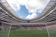 IMPRESSIONS MOSCOW 2018 - OPENING MATCH STADIUM - Luzhniki Stadium,<br /> Football World Cup starts in MOSCOW on June 14th 2018<br /> Honorarpflichtiges Foto, Fee liable image, Copyright © ATP Anthony STANLEY