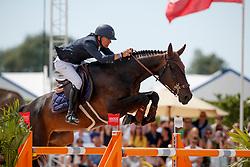 Vermeir Wilm, BEL, IQ van het Steentje<br /> Rolex Grand Prix CSI 5* - Knokke 2017<br /> © Dirk Caremans<br /> 09/07/17