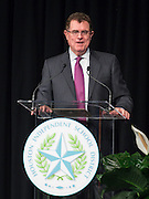 Houston ISD superintendent Dr. Terry Grier comments during the opening day of the Summer Leadership Institute at Reliant Center, June 17, 2014.
