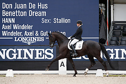 Wienkamp Ann-Christin, GER, Don Martillo<br /> Longines FEI/WBFSH World Breeding Dressage Championships for Young Horses - Ermelo 2017<br /> © Hippo Foto - Dirk Caremans<br /> 03/08/2017