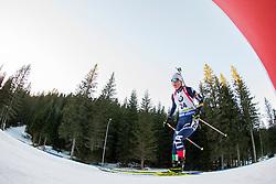 Federica Sanfilippo (ITA) during Women 12.5 km Mass Start at day 4 of IBU Biathlon World Cup 2015/16 Pokljuka, on December 20, 2015 in Rudno polje, Pokljuka, Slovenia. Photo by Urban Urbanc / Sportida
